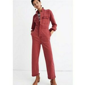 Madewell garment dyed jumpsuit